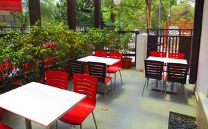 The Exterior seating area- Restaurant