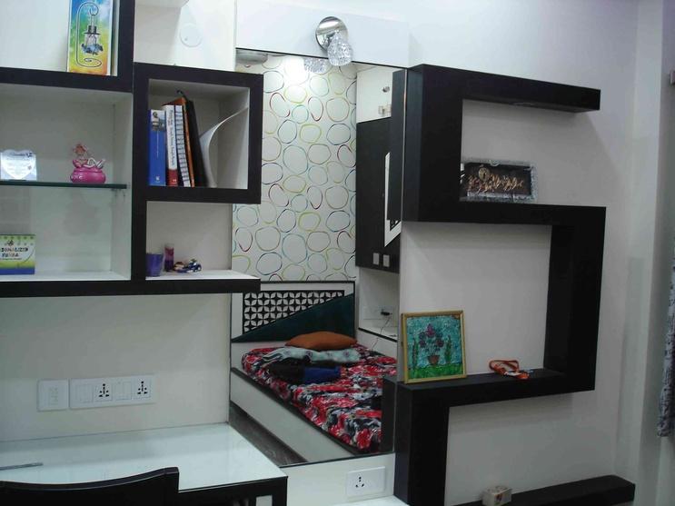 Apartment by arpita doshi interior designer in kolkata for Bengals bedroom ideas