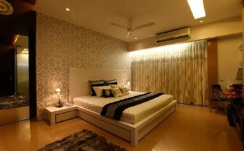Guest Room Decor Idea by Architecture firm Amit walavalkar Adorn space concepts pvt ltd.