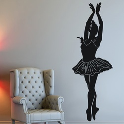 Graceful Dance Move Wall Decal ( KC099 )