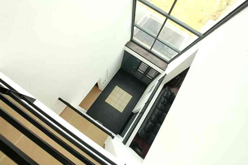 Entry foyer from the double height Area