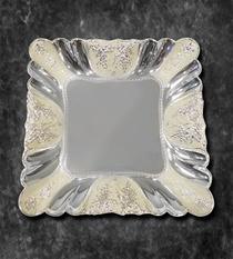 Tray with Enamel Border (Big)