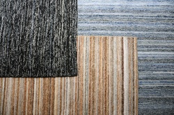 Deniza Recycled Denim and Wool Rugs