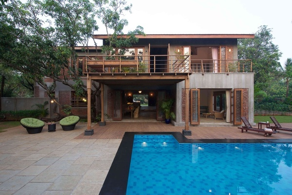 Contemporary Pool Design by Architect Puran Kumar