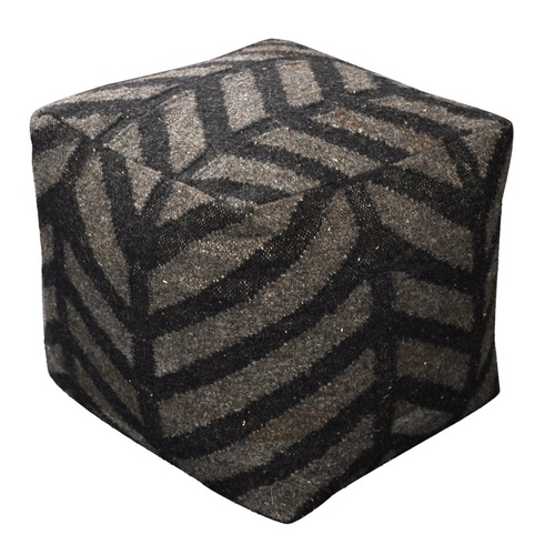 Rumex Contemporary Wool Poufs