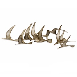 Flock Exclusive Hand Crafted Wall Decor Accent