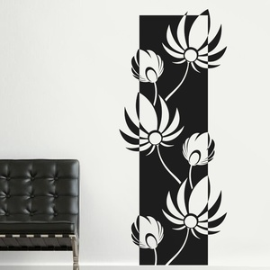 Lovely Lotus Wall Decal ( KC080 )