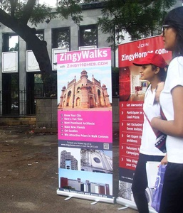 ZingyWalkers explaining what ZingyWalks are