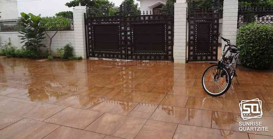 Golden Fantasy Quartzite Tiles