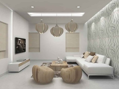 Modern Living Room in Subtle Shades