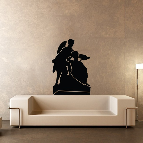 Winged Angles Wall Decal ( KC230 )