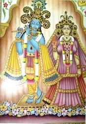 Radha & Krishna Painting – Artwork