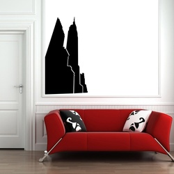 New York Skyscrapers Wall Decal ( KC243 )