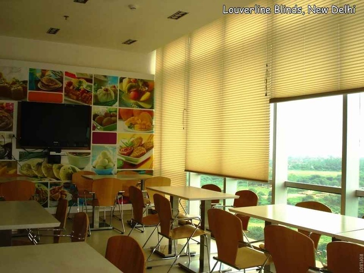 Blinds used for the Restaurant