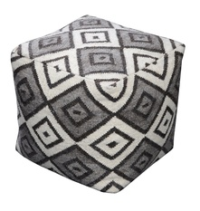 Zaraya Hand-tufted Luxury Poufs
