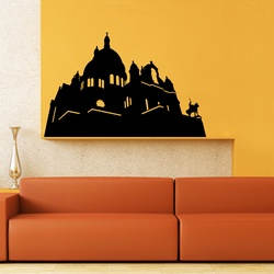 Historic Structure Wall Decal ( KC227 )