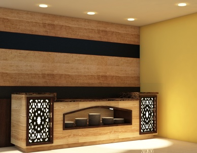 Buffet Counter Interior Design Inspiration