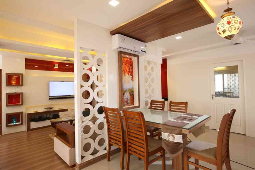 Flat interiors by Cindu V, Architect in Calicut,Kerala, India