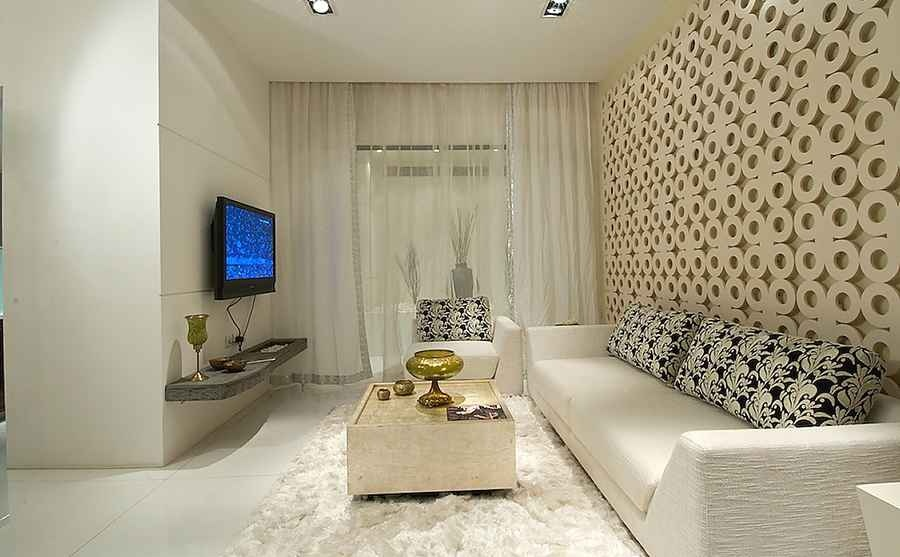 Living Area With A Motif Jali