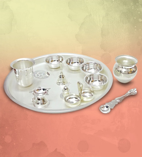 Buy Online Pooja Set of 12pcs.