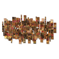 Indulgence Copper Wall Sculpture