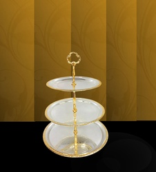 Online 3 Tier Fruit Bowl Round Plain