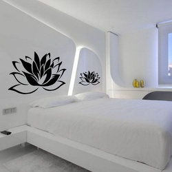 Lovely Lotus Wall Decal ( KC114 )