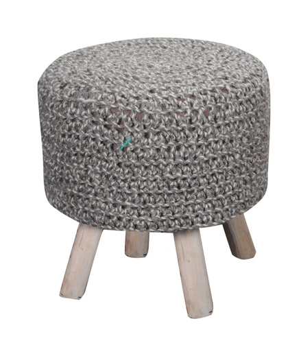 Montana Luxury Wood Stool