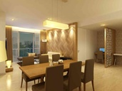 1 BHK - Living area