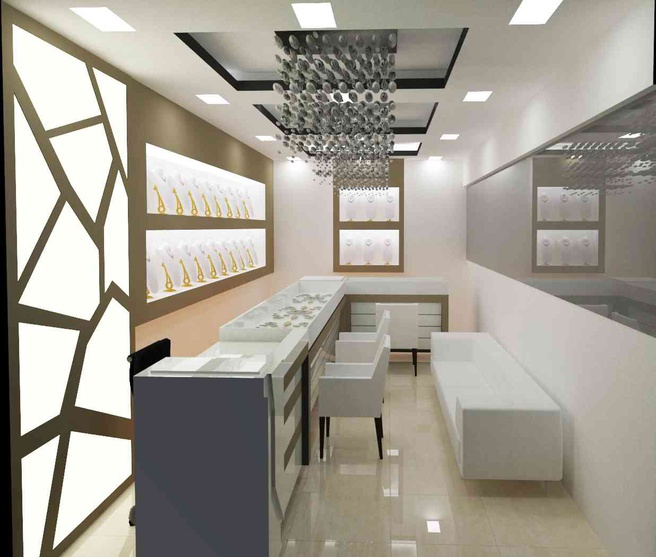 Jewellery Showroom At Raopura Vadodara By Kishan Suthar