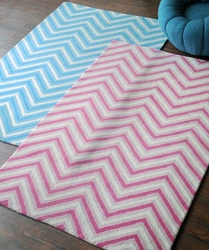Valley Chevron Pattern Rugs