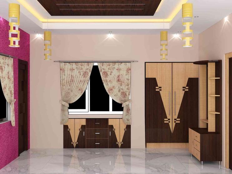 Bedroom Interior By Sunny Singh Interior Designer In Kolkata West