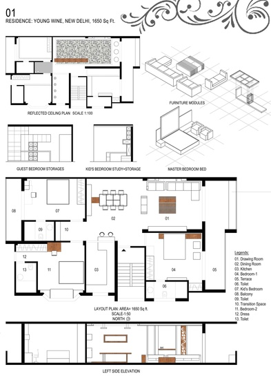 Young Wine Residence- House Plan