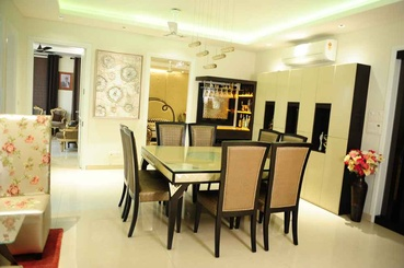 The Dining Area - Qboid Design House
