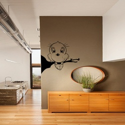 Cute Bird Wall Decal ( KC277 )