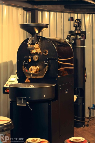 India's 1st ever coffee Roaster