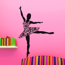 Ballerina Wall Decal ( KC087 )