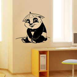 Baby Panda Wall Decal ( KC102 )