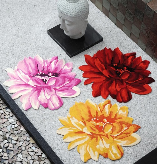 Lotus Hand-tufted Wool Rugs