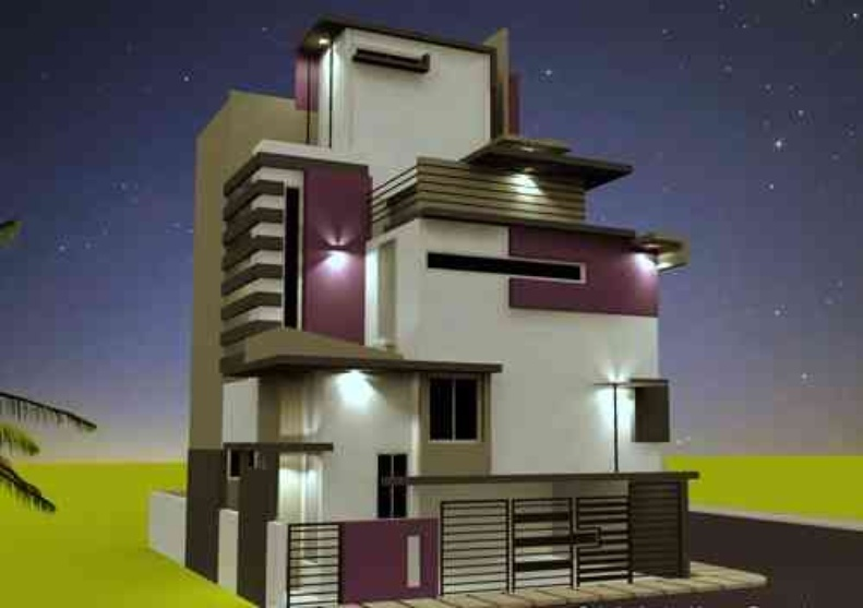 How To Design Home Front Elevation : Front elevation design by rohit mathur interior designer