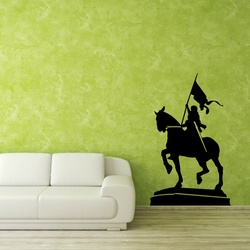 Warrior Queen Wall Decal ( KC226 )