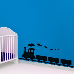 Train Wall Decal for Kids Room ( KC154 )