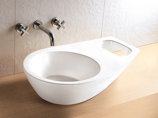 Sestones Flavia Ceramic Art Basin