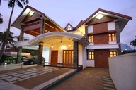 Sloping Roof Residence