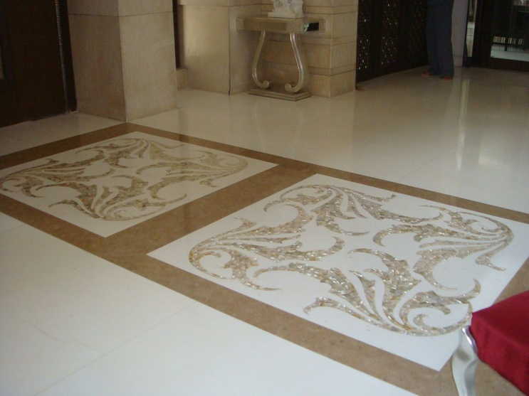 Marble Flooring to accentuate the overall elegance
