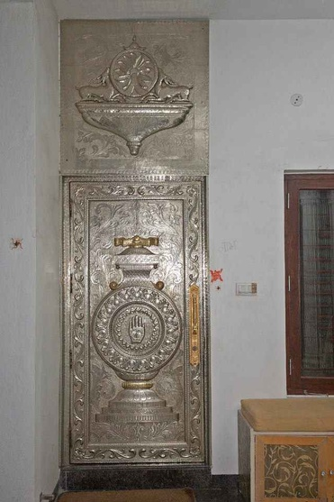 Metallic Antique Door