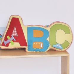 ABC Shaped Cushion