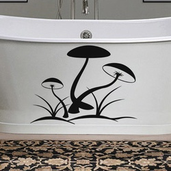 Mushrooms Wall Decal ( KC254 )