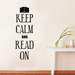 Keep Calm and Read on Wall Decal ( KC351 )
