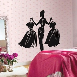 Dress Up Dilemma Wall Decal ( KC128 )
